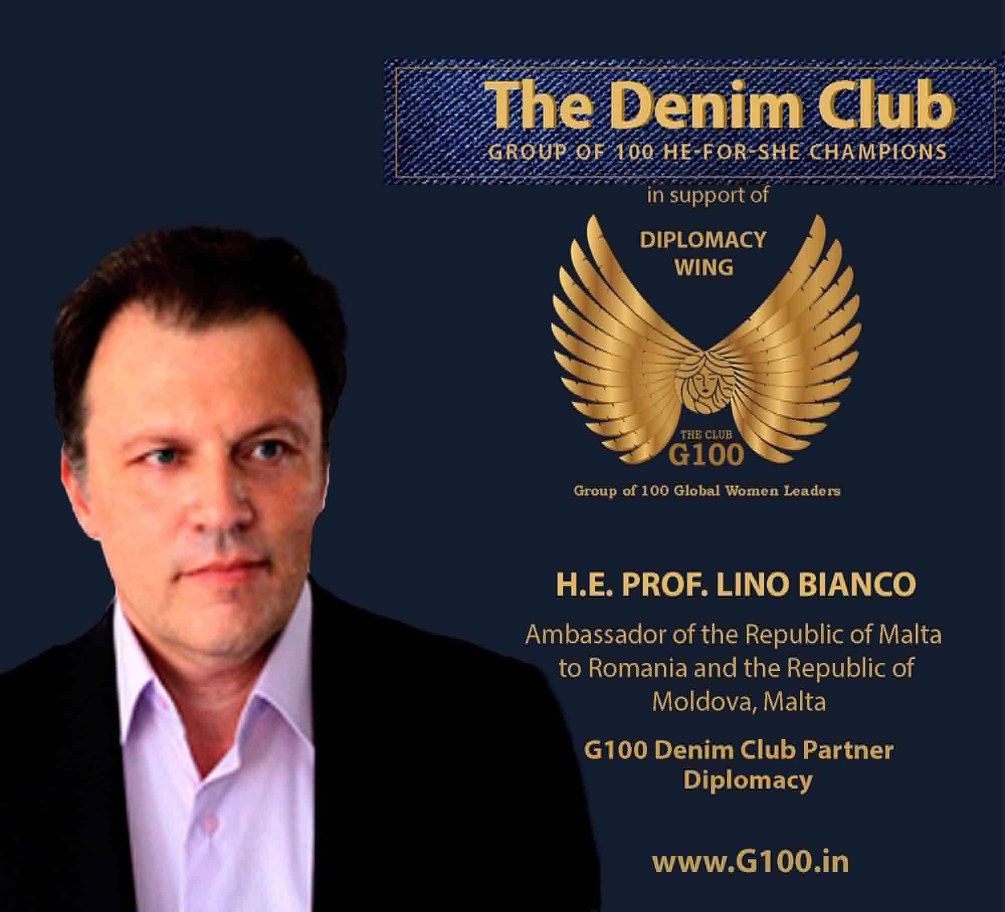H.E. Prof. Lino Bianco